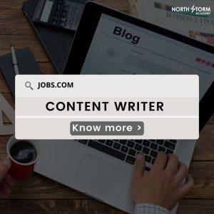 Content Writer| Careers in Digital Marketing